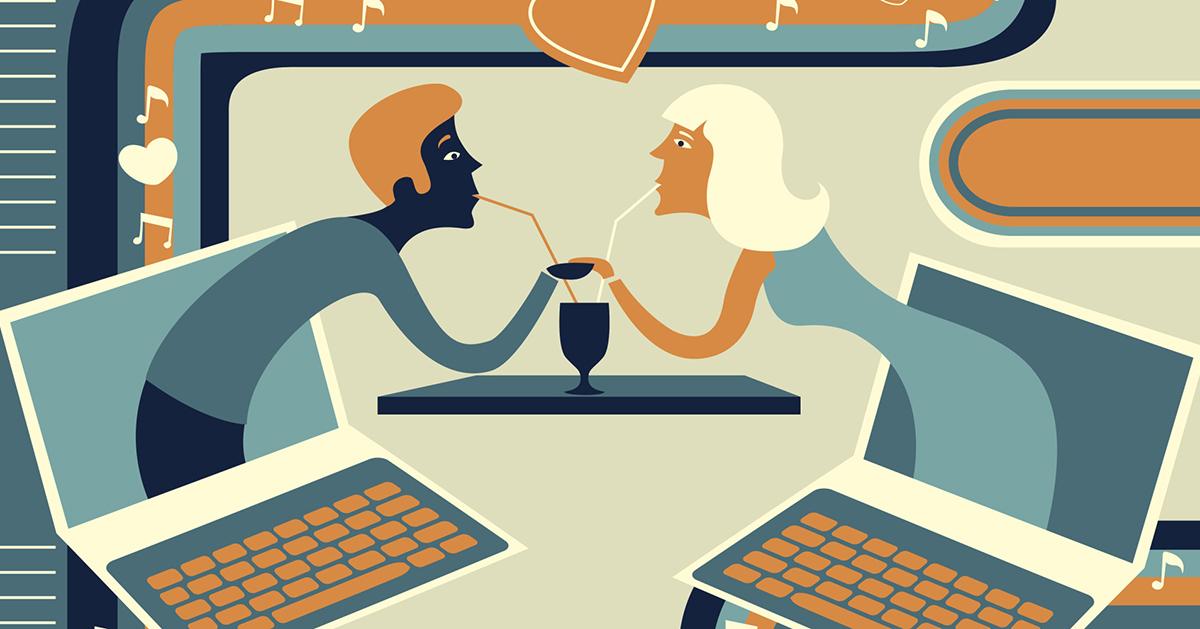 Online dating för hundarna chattar